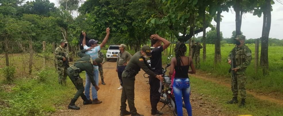 Policía y Ejército refuerzan la seguridad en San José de Uré