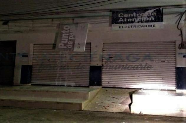 Electricaribe instaurará denuncia por ataques a oficina en Ciénaga de Oro