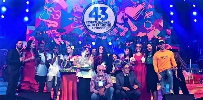 Estudiante UPB ganó el 43 Festival Nacional de la Canción Uninorte