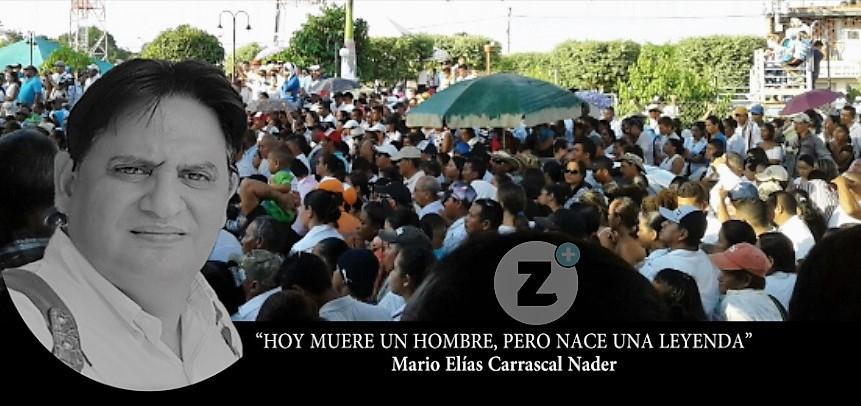 Puerto Libertador despidió al 'hijo del pueblo' en medio de llanto y dolor