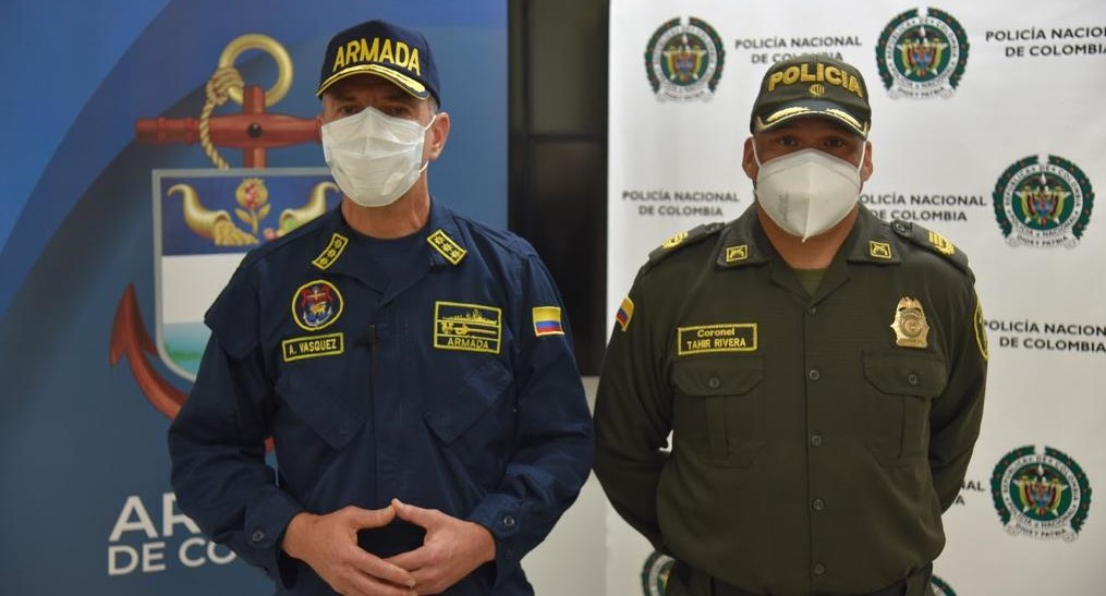 En un trabajo conjunto Armada de Colombia y Policía capturan a 'Brasil' presunto cabecilla del Clan del Golgo