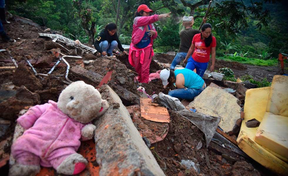Más de 30 personas muerta deja deslizamiento en zona rural del Cauca