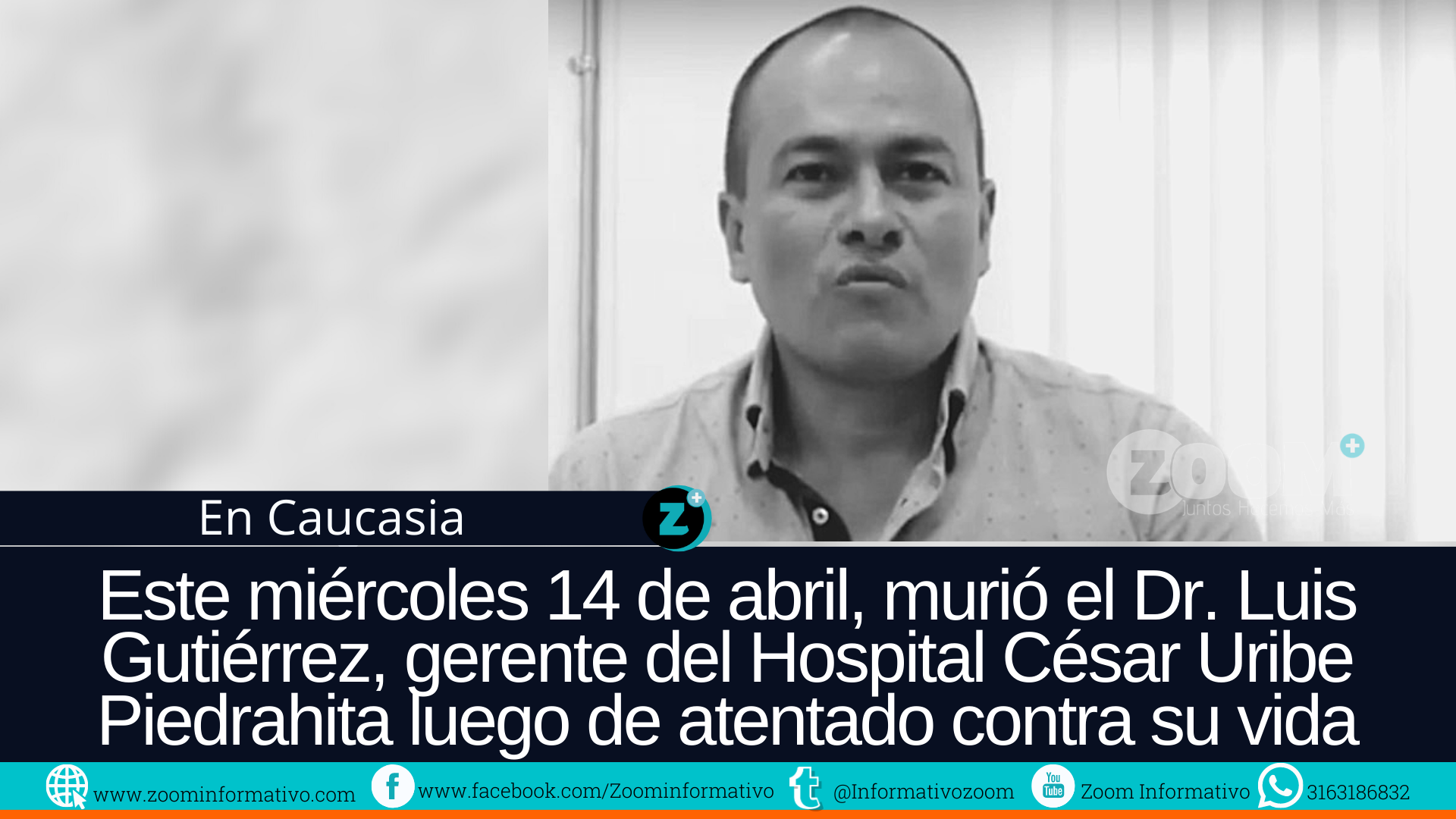 Tras el deceso de Luis Octavio Gutiérrez Montes, la comunidad salió a pedir justicia