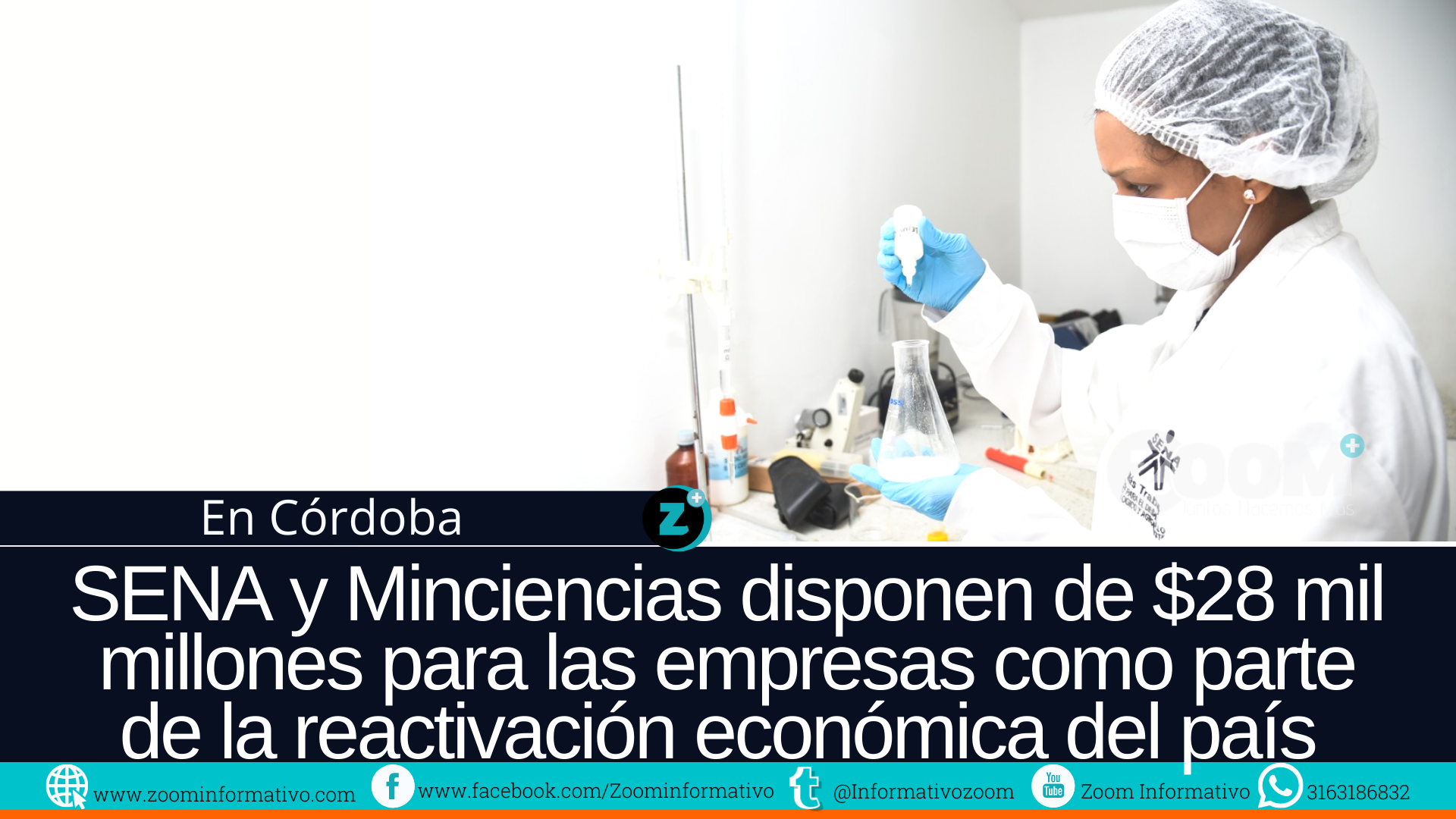 SENA y Minciencias disponen de $28 mil millones para las empresas como parte de la reactivación económica del país