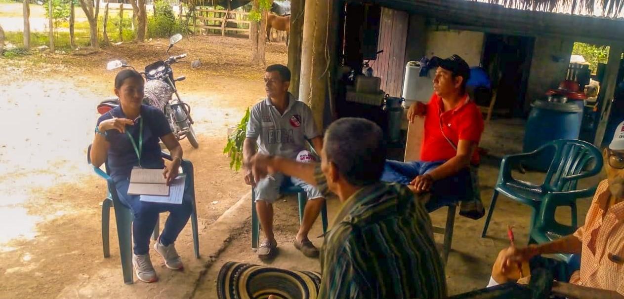 En Tuchín y Chimá Electricaribe socializa proyecto con las comunidades