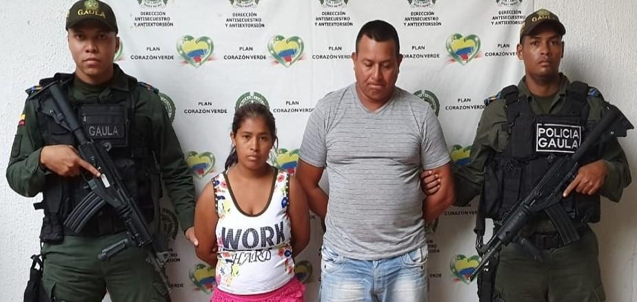 GAULA de la Policía, captura dos presuntos integrantes del 'Clan del Golfo'