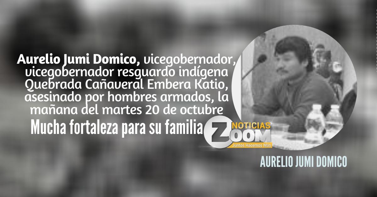Asesinado vicegobernador indígena en zona rural de Puerto Libertador