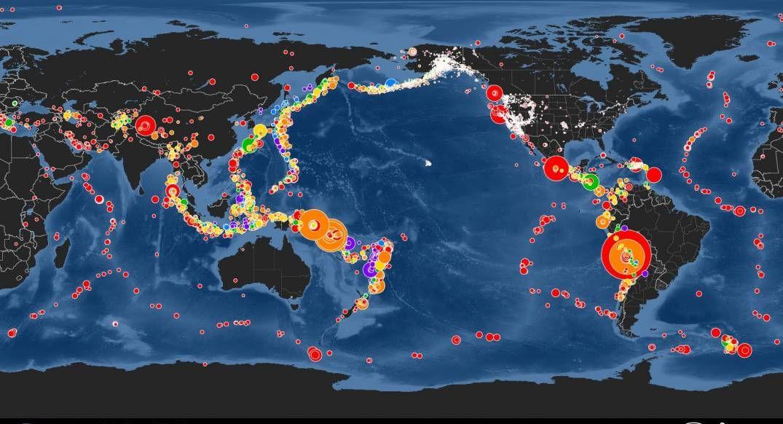 Expertos temen que cinturón de fuego del pacífico, desemboque un mega terremoto