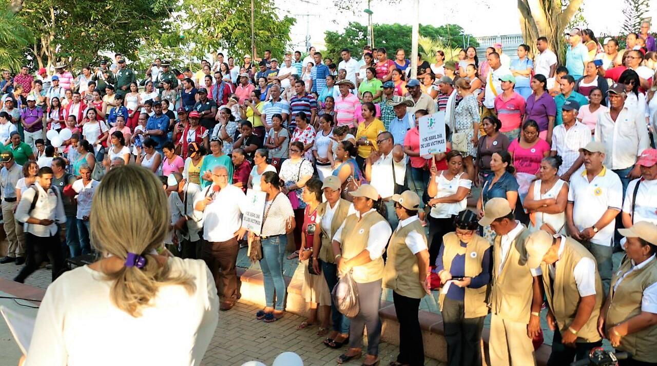 Córdoba rindió homenaje a las víctimas del conflicto armado